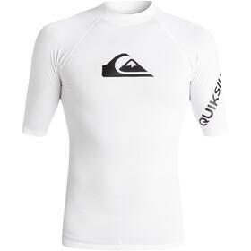Quiksilver All Time Miehet Lyhythihainen paita , valkoinen